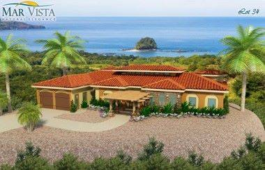 Ocean View home in Playa Grande with room to build additional homes!