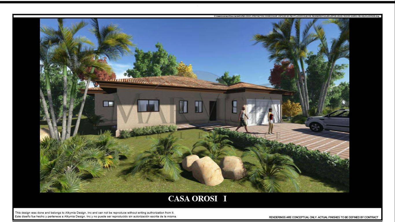 New Ocean view home – Orosi Floor Plan