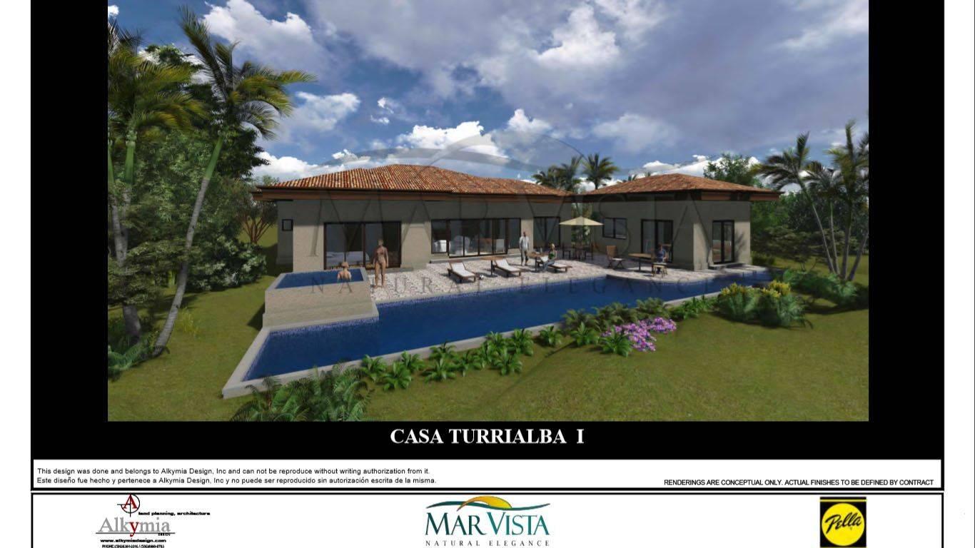New Ocean view home -Turrialba Floor Plan