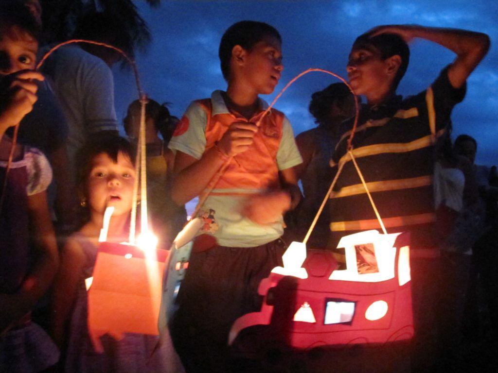 Costa Rica Dia de Independencia Faroles