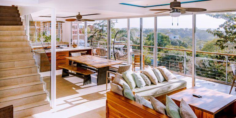 Waterfall House - living room (1)