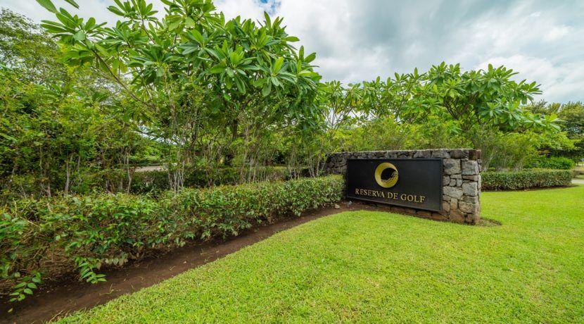 Gated comunity entrance