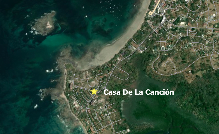 Casa De La Cancion- Aerial Map