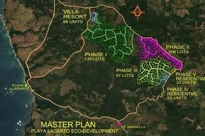 C-13 Playa Lagarto Master plan