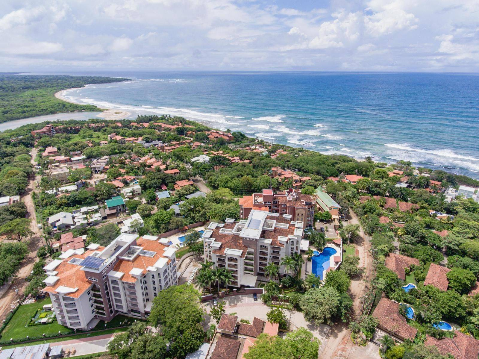 Ocean View Peninsula Condo in Playa Langosta!