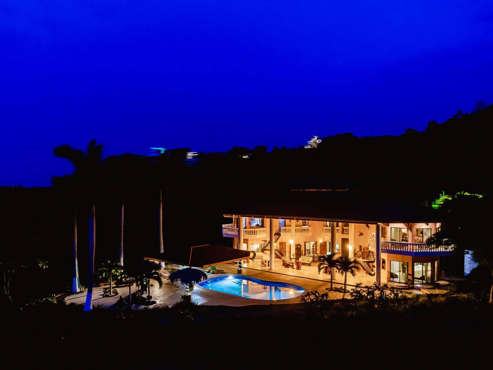 Villa Vista de Oro Ocean View Home in Ocotal Beach
