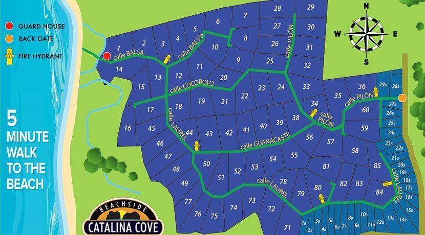 Catalina Cove Map template