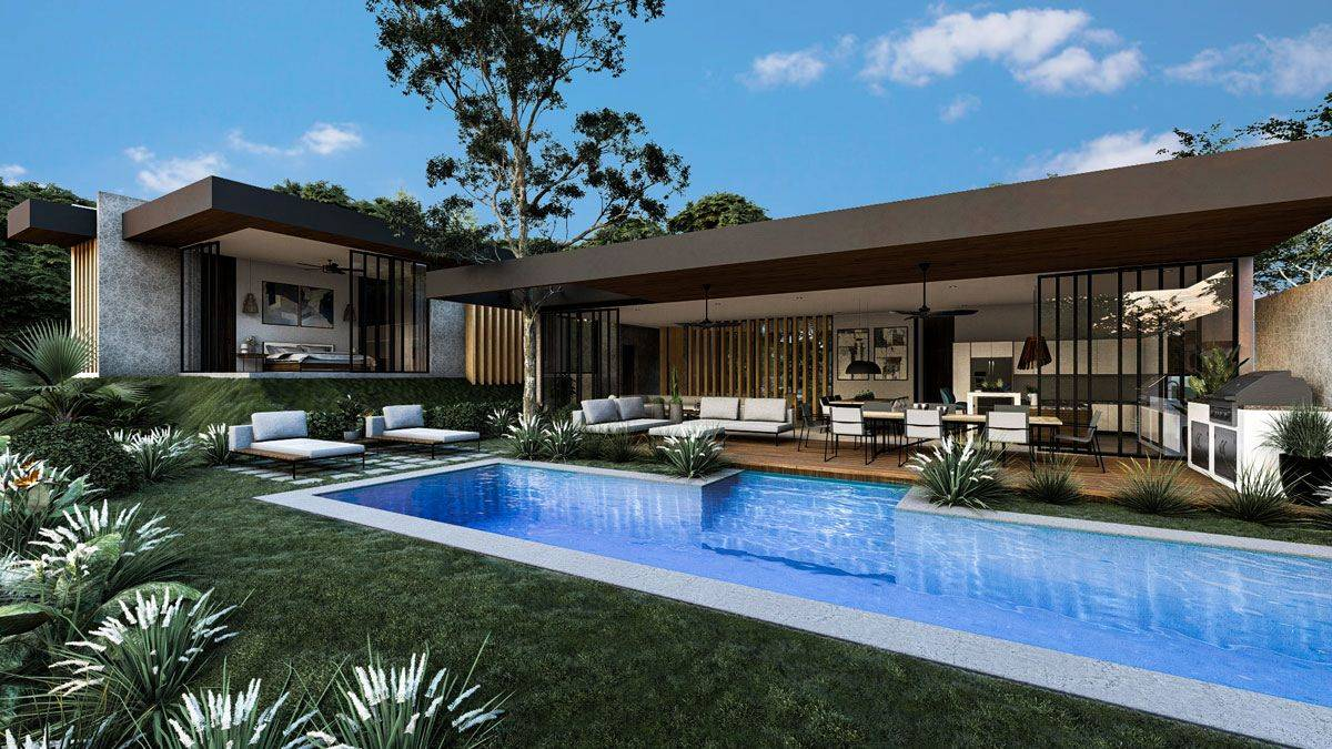 Modern Family Oasis-SOLD