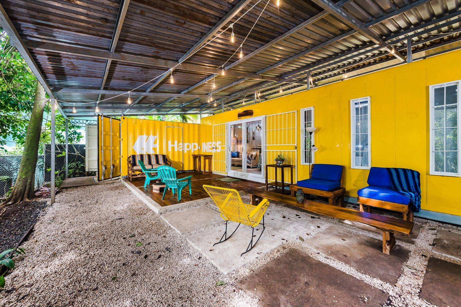 Casa Lemonpaloosa: Very Private Container Home!-JUST REDUCED