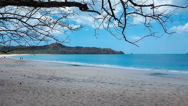 Playa Conchal Beach white sands