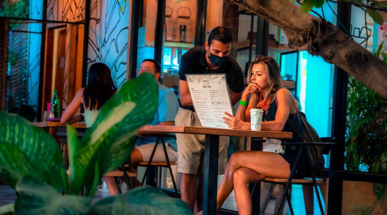 menu order at Tamarindo restaurants