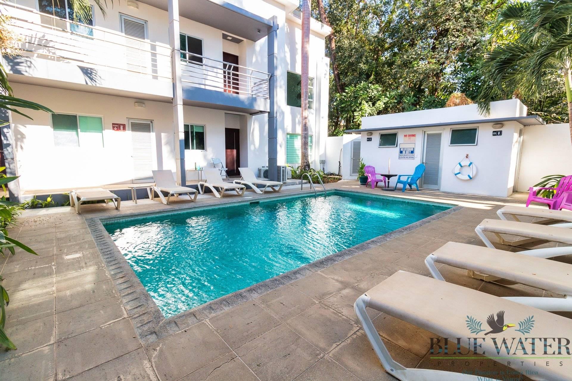 Casa Blanca 7- Modern brand new walk-to-beach condo in Playa Potrero!