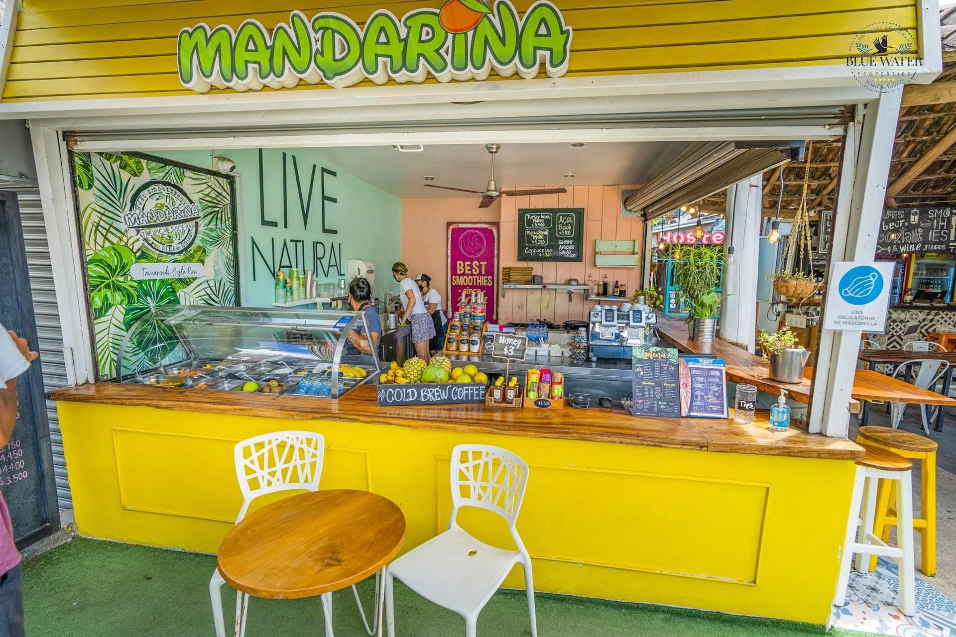 Tropical Juice bar business
