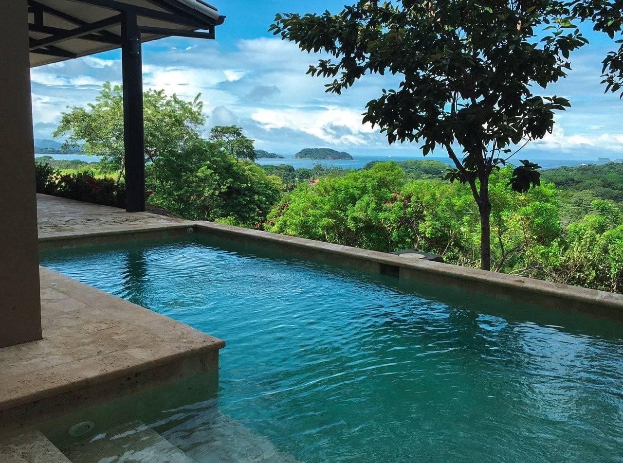Ocean View Home In La Marcela