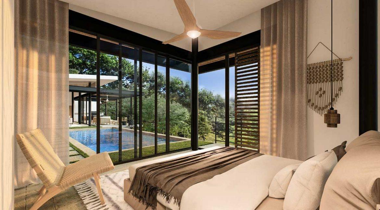 Pool-Bedroom