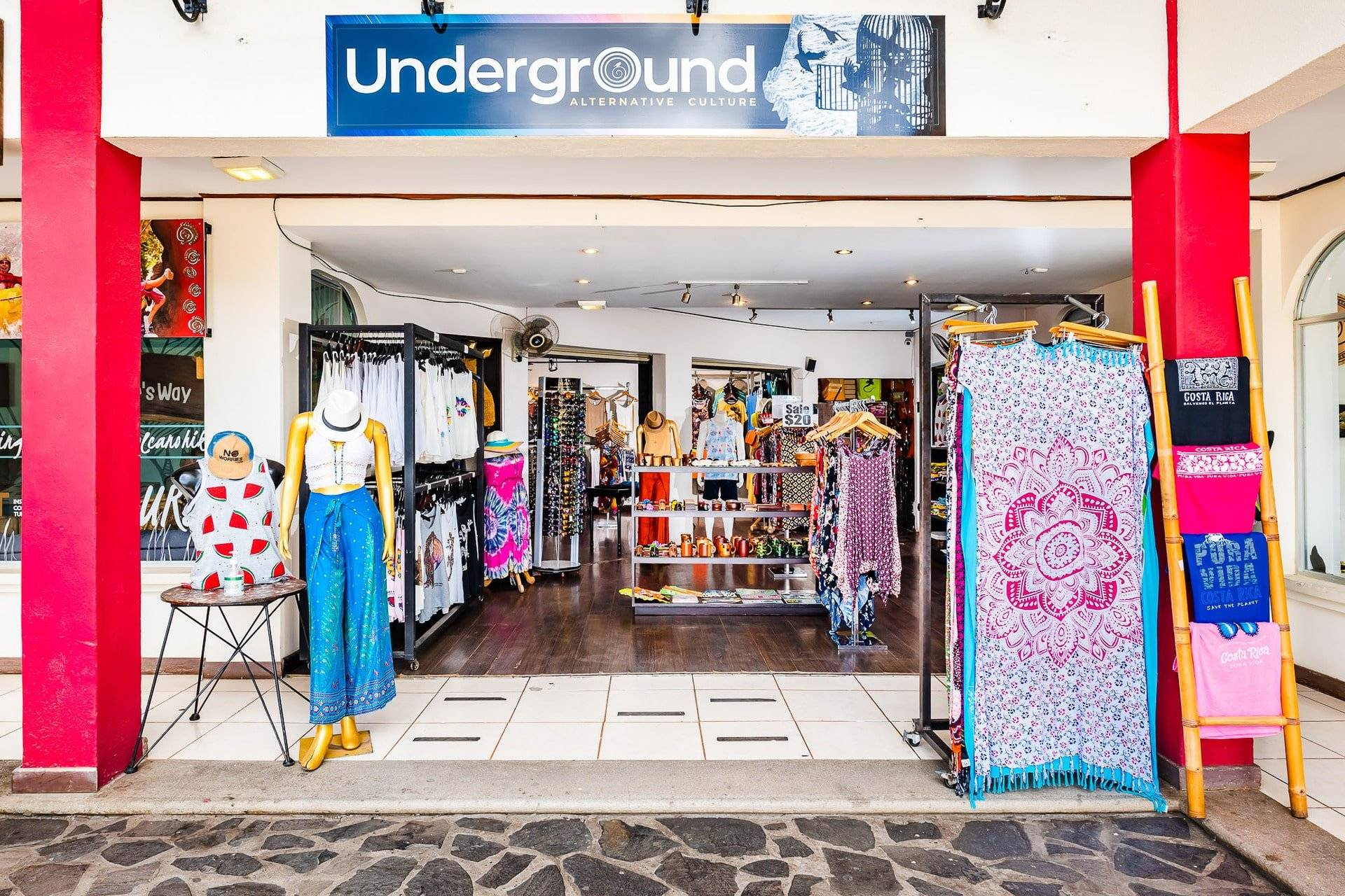 Profitable Eclectic Clothing, Jewelry, Accessories and Souvenir Boutique For Sale in the Center of Tamarindo!