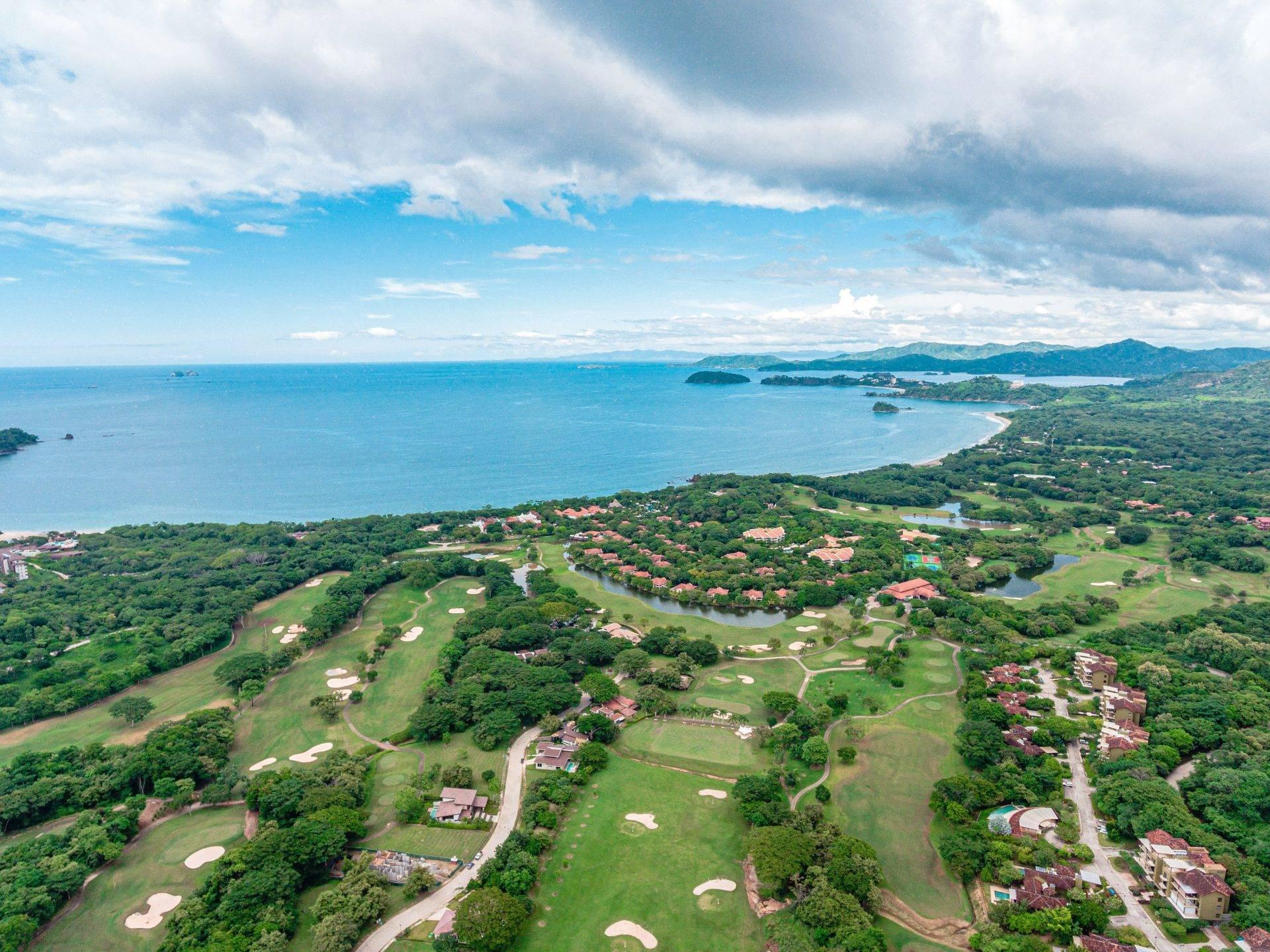 Reserva Conchal gated resort community properties of Costa Rica