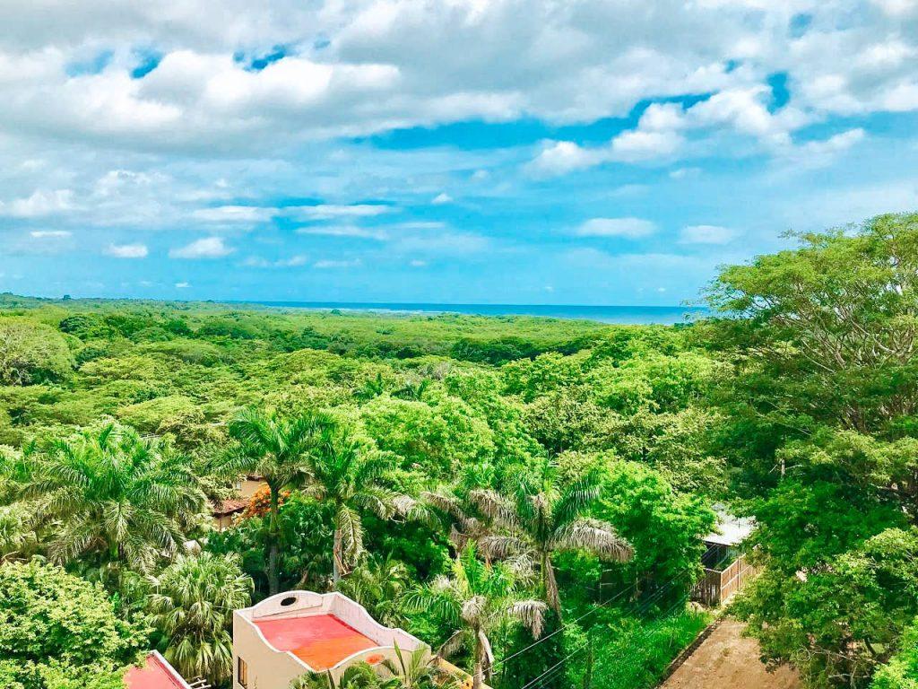 ocean view from Tierra Condos