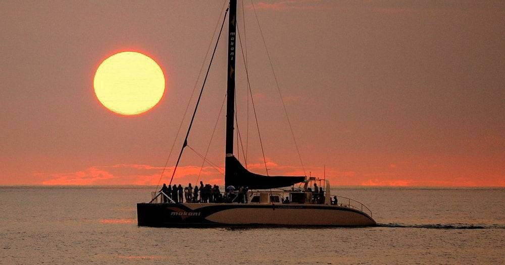 sunset catamaran cruise Costa Rica travel experiences