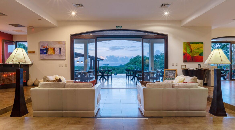 Villa Buena Onda Lobby with View 2-min